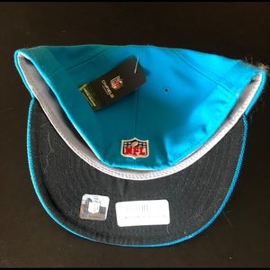 New Era Accessories - Fitted Carolina Panthers Hat, Size: 7.5